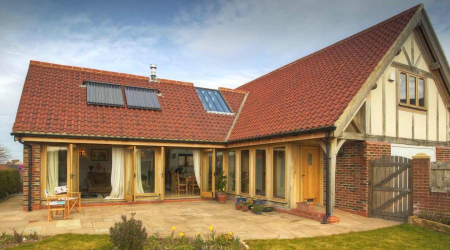 Case Study Granger Family Home Welsh Oak Frame