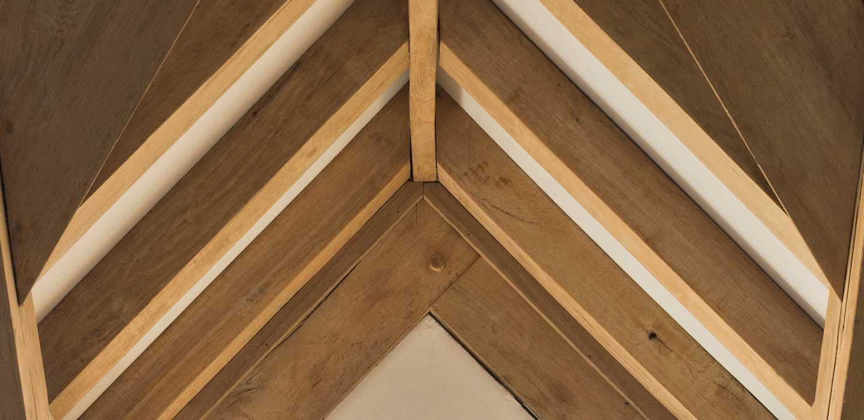 The properties of an oak frame