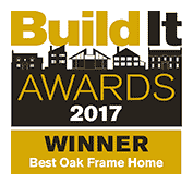 Build It Awards 2017 - Winner - Best Oak Frame Home