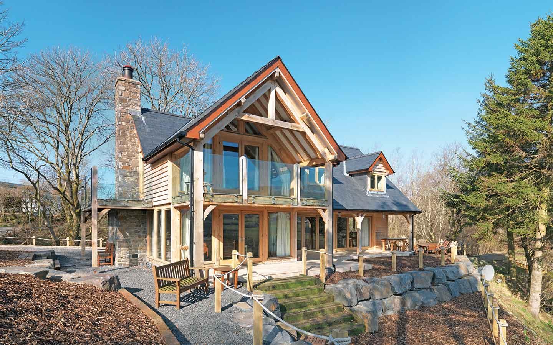 garage extension ideas - Oak frame buildings